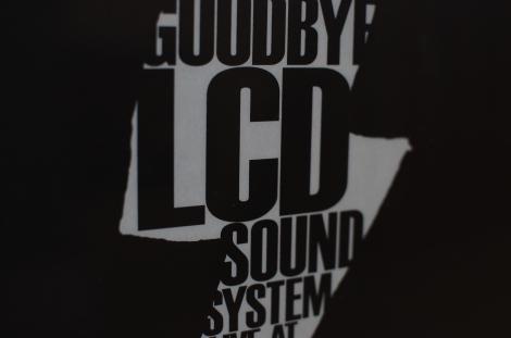 Goodbye LCD Soundsystem