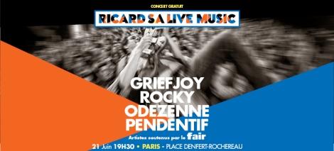 Fair - Ricard SA Live Music