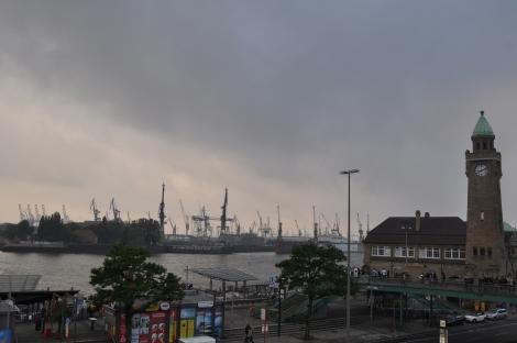 Sankt Pauli vu depuis le tromé