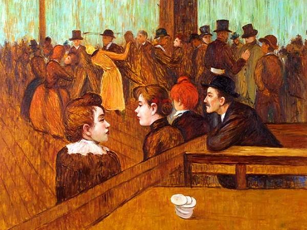 Au Bal du Moulin de la Galette, Toulouse-Lautrec