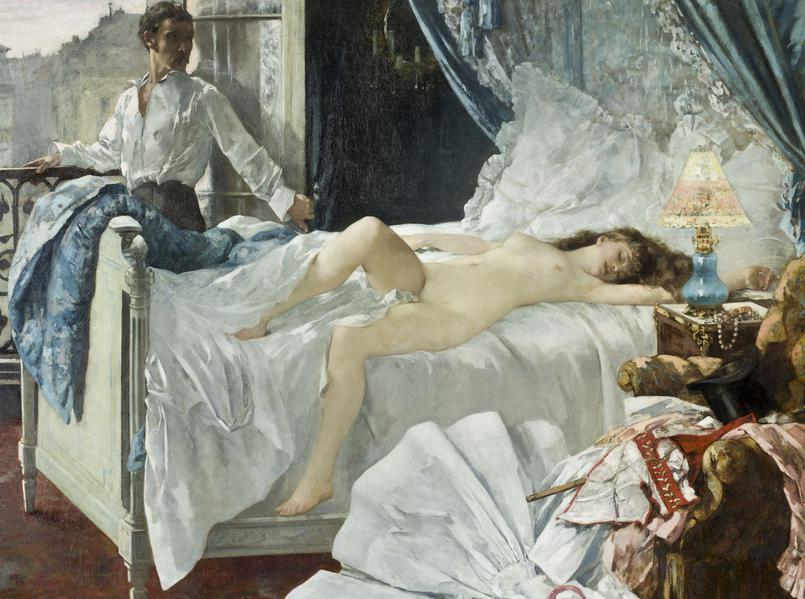 Rolla, Henri Gervex, 1878, Huile sur toile,