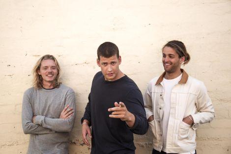 Sons of the East pour RockNfool (de g. à dr. : Nic, Jack et Dan)